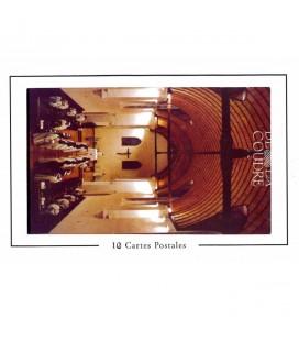 ABBAYE DE LA COUDRE -  Série des 12 cartes postales de l'Abbaye
