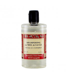 ABBAYE DE GANAGOBIE - Shampooing au miel & sauge