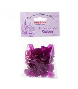 ABBAYE DU DESERT - Bonbons arôme violette SANS SUCRE