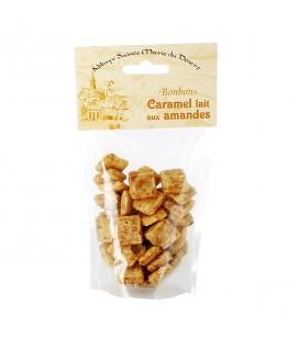 ABBAYE DU DESERT - Bonbons au caramel lait aux amandes