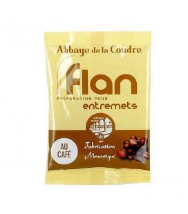 ABBAYE DE LA COUDRE - Préparation pour flan au café 45gr