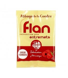 ABBAYE DE LA COUDRE - Préparation pour flan à la framboise 45gr