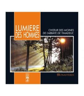 ABBAYE DE TIMADEUC - CD - Lumiére des hommes - Choeur des moines de l'Abbaye de Timadeuc