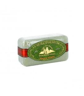 ABBAYE DU BARROUX - Savon à l'huile d'olive et à l'argile verte