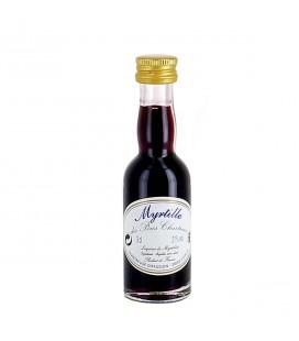 CHARTREUSE - Liqueur de myrtille en mignonnette