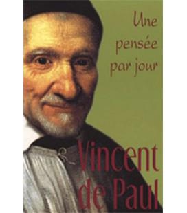 LIVRE n°80 - UNE PENSEE PAR JOUR - Saint Vincent de Paul