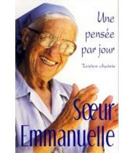 LIVRE n°75 - UNE PENSEE PAR JOUR - Soeur Emmanuelle