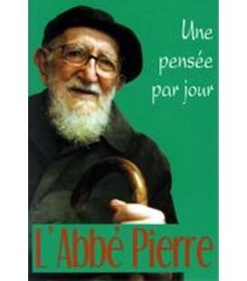 LIVRE n°72 - UNE PENSEE PAR JOUR - Abbé Pierre
