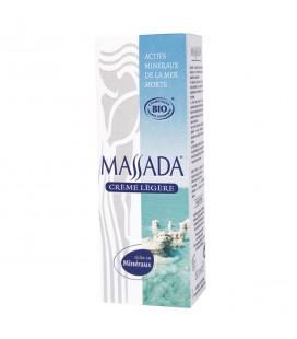 MASSADA - Crème légère bio visage aux actifs de la Mer Morte