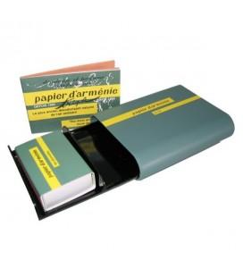 PAPIER D'ARMENIE -  Kit de voyage (brûleur+ 1 carnet Tradition + allumettes