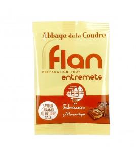ABBAYE DE LA COUDRE - Préparation pour flan caramel au beurre salé 45gr
