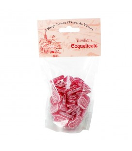 ABBAYE DU DESERT -  Bonbons coquelicots