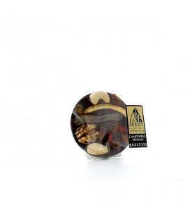 ABBAYE DE CAMPENEAC - Mendiant au chocolat noir et fruits secs