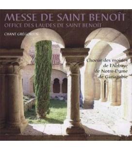 ABBAYE DE GANAGOBIE - CD - Messe St Benoit-Chant grégorien