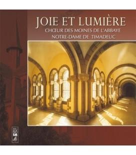 ABBAYE DE TIMADEUC - CD - Joie et lumière-Choeur de l'Abbaye de Timadeuc