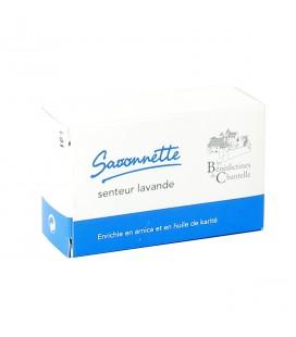 LES BENEDICTINES DE CHANTELLE - Savonnette senteur lavande