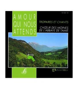 ABBAYE DE TAMIE - CD - Amour Qui Nous Attends