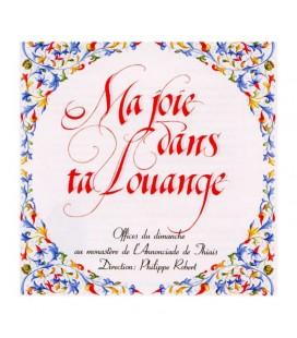 MONASTERE DE THIAIS - CD - Ma joie dans ta Louange