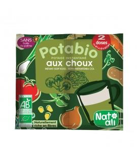NAT-ALI - Potabio : potage bio instantané aux choux