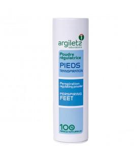 ARGILETZ - Poudre régulatrice à l'argile verte pour les pieds