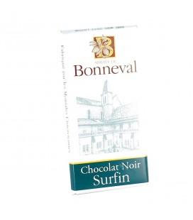 ABBAYE DE BONNEVAL - Tablette de chocolat noir surfin