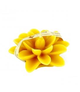 MONASTERE DE BOIS-SALAIR - Bougie flottante fleur de lotus N°4