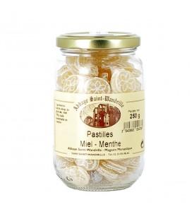 ABBAYE DE SAINT WANDRILLE - Pastilles au miel & à la menthe