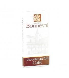 ABBAYE DE BONNEVAL - Tablette de chocolat au lait & café