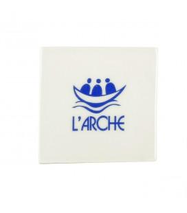 L'ARCHE - Plaque décorative au logo de l'Arche