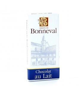 ABBAYE DE BONNEVAL - Tablette de chocolat au lait