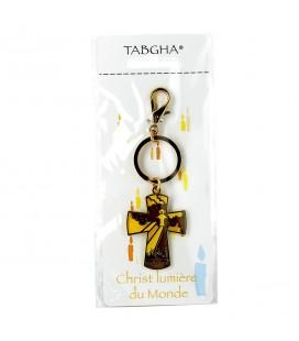TABGHA - Porte-clés Christ Lumière du Monde
