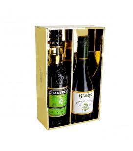 CHARTREUSE - Coffret Chartreuse Verte + Génépi