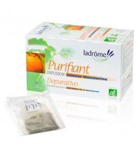 LADROME - Infusion bio purifiant à la mandarine