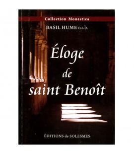 LIVRE - Eloge de saint Benoît - Basil Hume o.b.s.- n°6