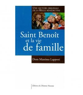 LIVRE - Saint Benoît et la vie de famille - Dom Massimo Lapponi - n°2