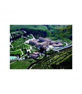 ABBAYE NOTRE-DAME DE L'ANNONCIATION - Carte postale vue aérienne de l'abbaye
