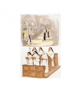 ABBAYE SAINTE MARIE DE RIEUNETTE - Cartes - prière (série 1)