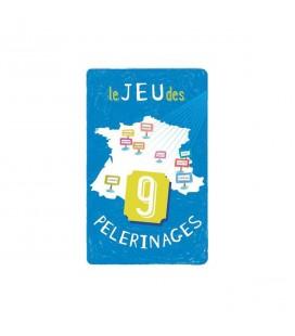 JEUX - le jeux des 9 pélérinages - carte à jouer