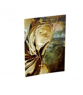 ABBAYE DE JOUARRE - Croix de Sainte-Osanne + carte postale