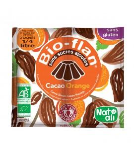 NAT-ALI - Bio-Flan : préparation bio pour flan au cacao & orange