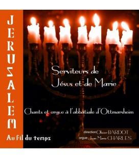 ABBATIALE D'OTTMARSHEIM - CD - Chant et Orgue - Jérusalem au fil du temps